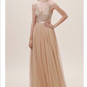 NEW BHLDN Avery Dress, Blush, Size 12.